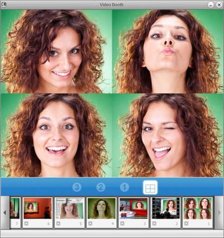 фотографии с эффектами веб камера